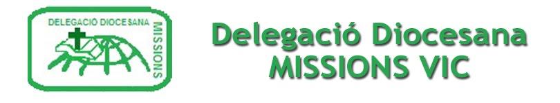 DELEGACIÓ MISSIONS – BISBAT DE VIC
